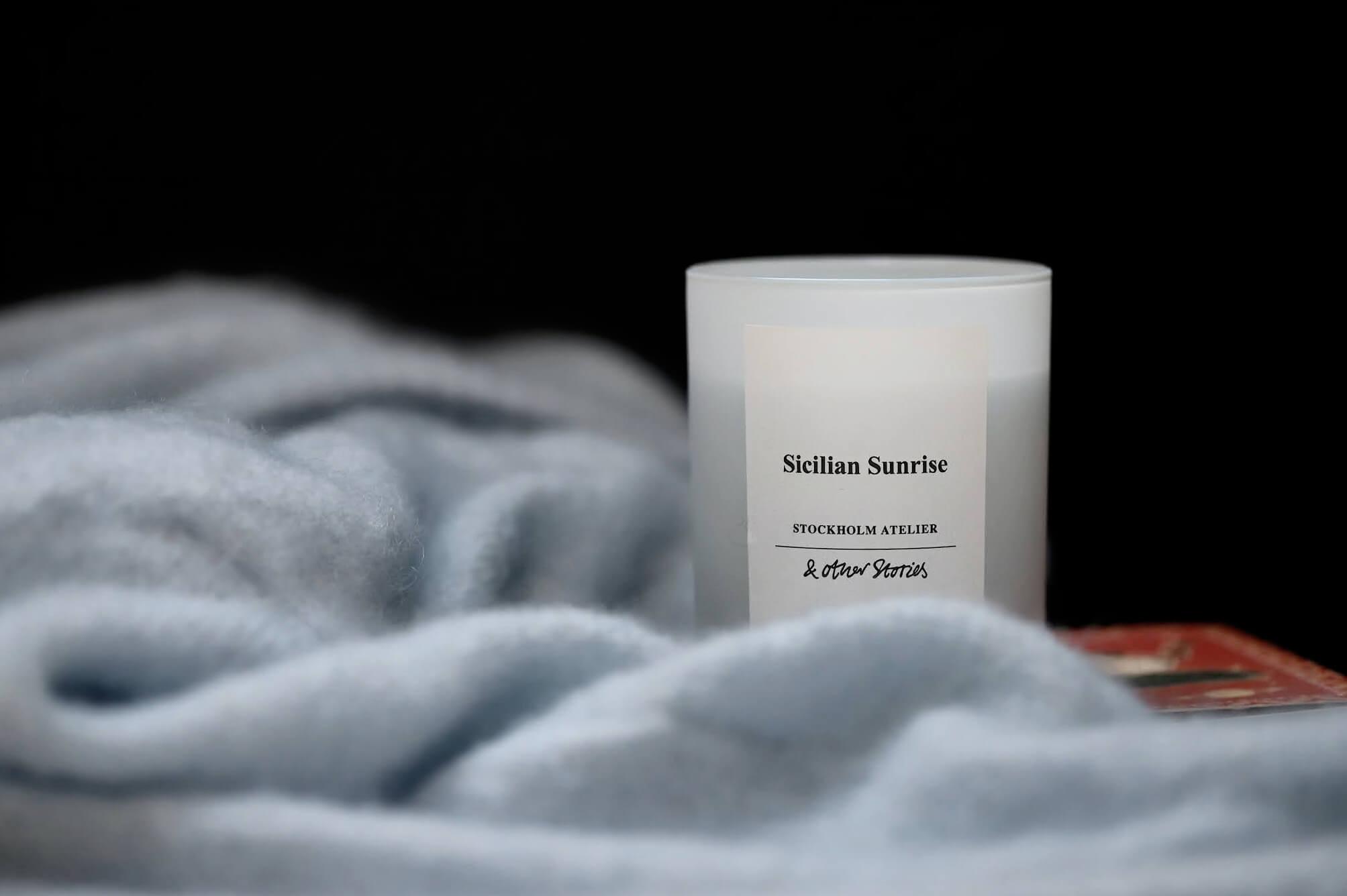 other stories bougie parfumée sicilian sunrise