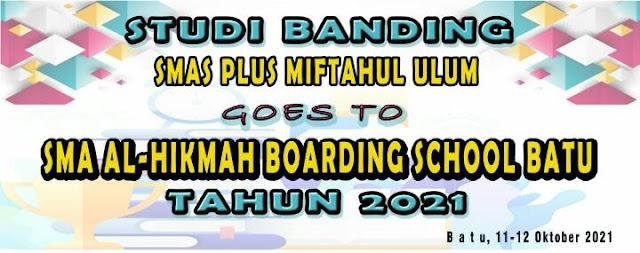 Goes to SMA AL-HIKMAH BOARDING SCHOOL BATU