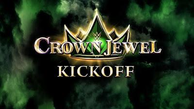 WWE Crown Jewel (2021) Kickoff 720p WEBRip 350MB x264