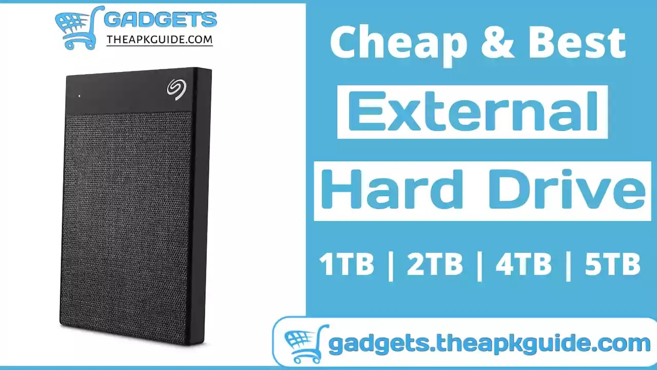 Which is the best Seagate external hard drive in India?