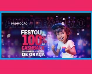 Aniversário 2021 Casas Bahia 69 Anos Festou 100% Cashback