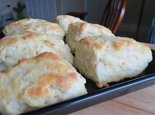 One, Two, Three, Buttermilk Biscuits