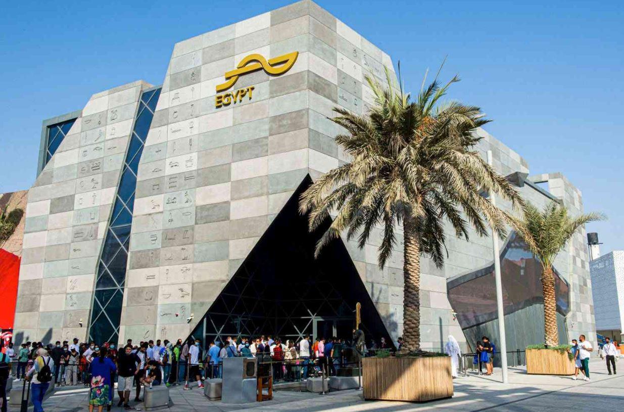 جناح مصر في إكسبو دبي Expo Dubai يبرز حضارة آلاف السنين