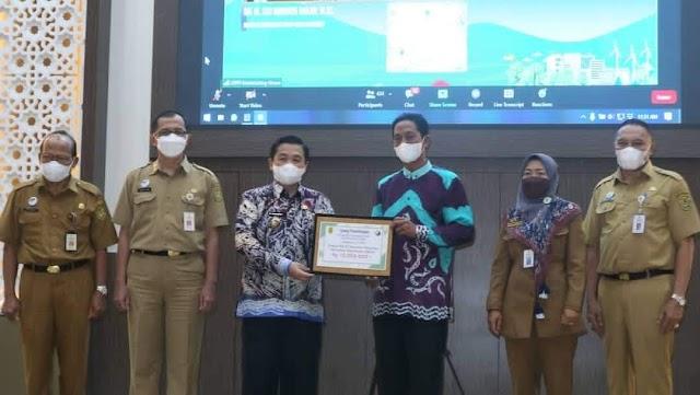 15 Kampung Iklim Kota Banjarmasin Dapat Penghargaan, Wali Kota Ibnu Sina juga Terima Penghargaan Pembina Proklim