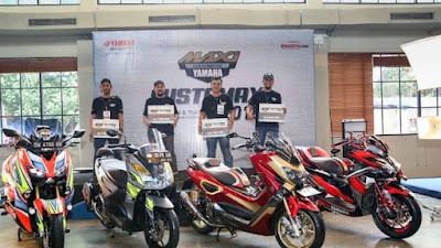 Lomba Modifikasi Yamaha Online Customaxi Berhadiah Uang Tunai