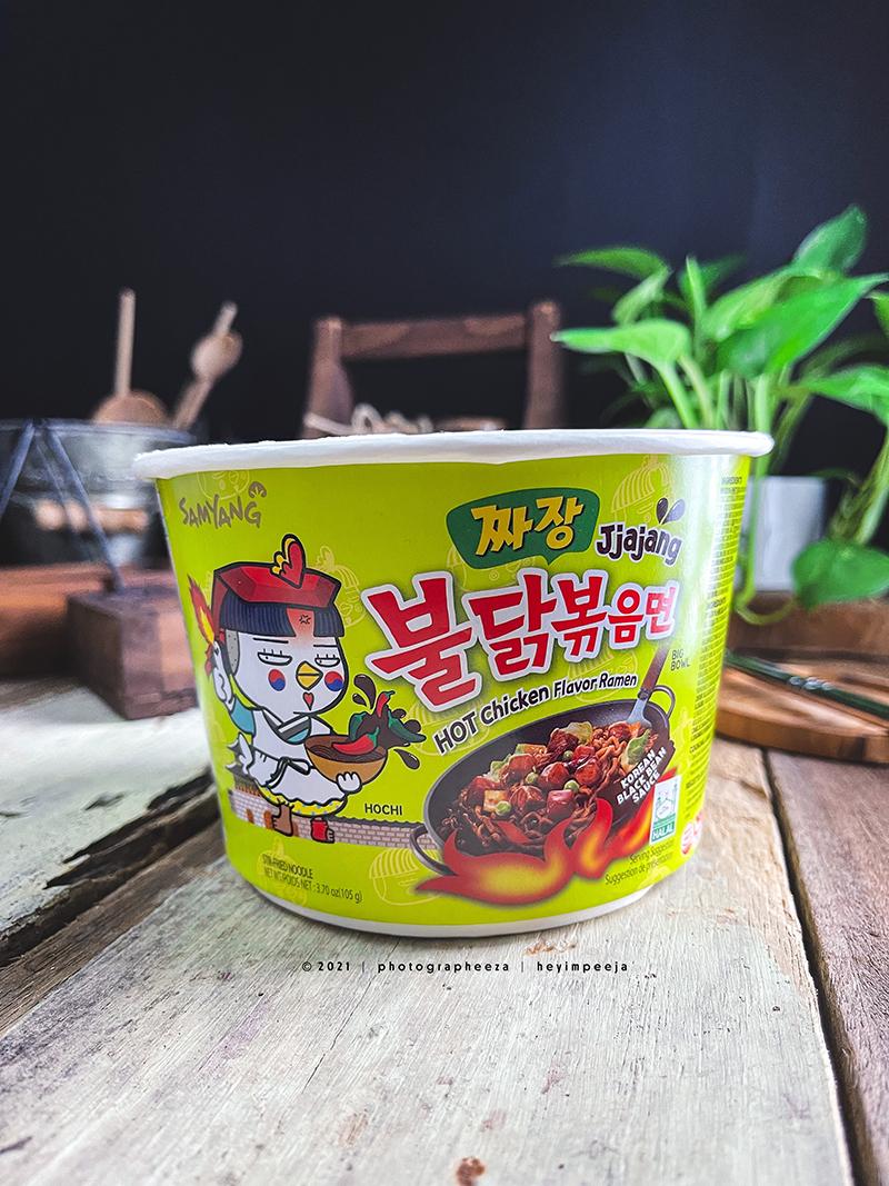 Samyang Jjajang Hot Chicken Ramen Review