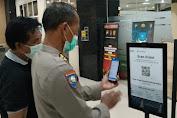 Wajib Scan Barcode ! Polda Jateng Perketat Prokes Pada Pengunjung Mapolda