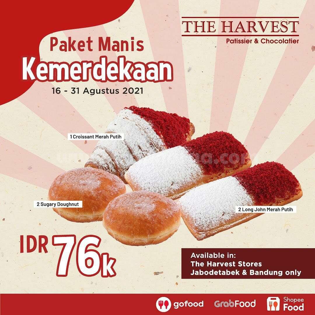 Promo The Harvest Paket Merdeka Periode 16 - 31 Agustus 2021