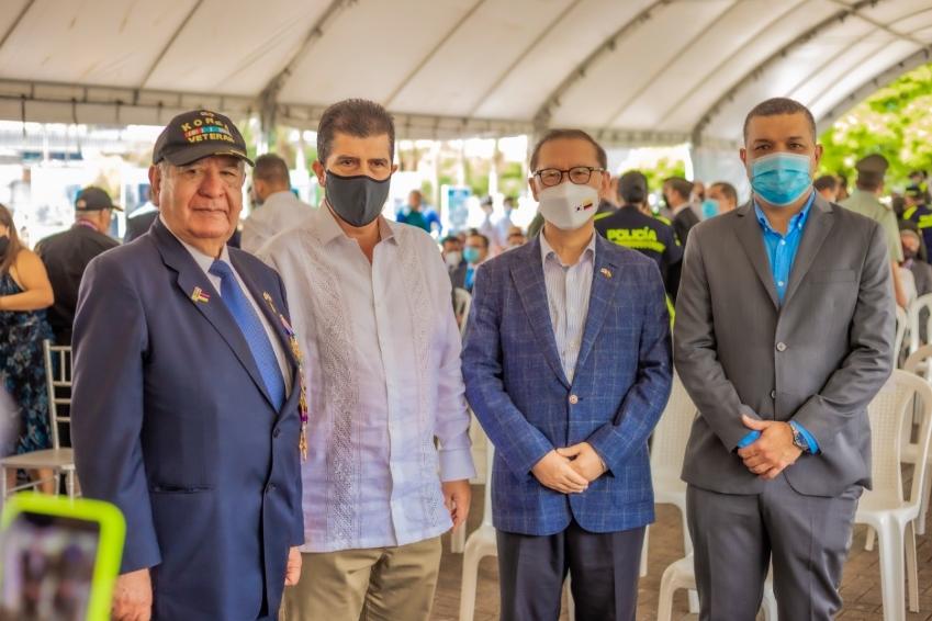 """""""Los verdaderos héroes no se olvidan"""", alcalde maya en el día de los veteranos de la fuerza pública"""