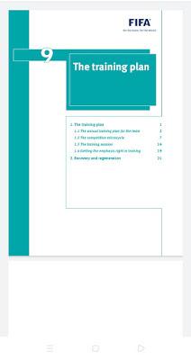 The training plan pdf