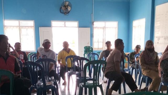 Desa Semuli Raya Laksanakan Sosialisasi Percepatan Vaksin