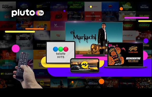 Pluto TV agrega nuevos canales para Latinoamérica y Brasil