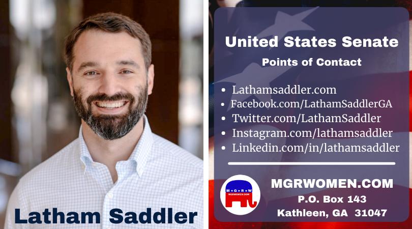 Latham Saddler - 2022 Senate Candidate