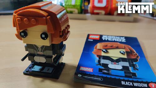 BrickHeadz 7 Black Widow LEGO® 41591 - www.dasklemmt.de