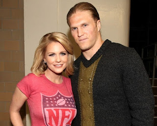 Casey Noble with her spouse Clay Matthews III
