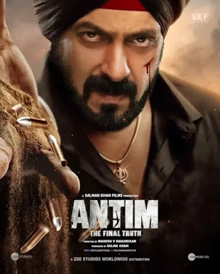 Antim: The Final Truth Movie Poster