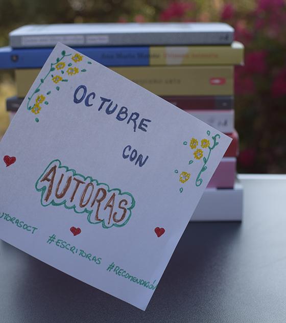 Participa en el «Octubre con autoras» de Bestia Lectora