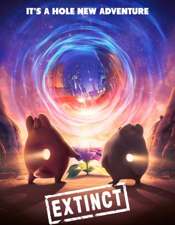 Extinct (2021) HDRip Hindi Dubbed Movie Download