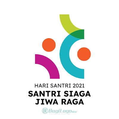 Logo Hari Santri 2021 - Kemenag Vector