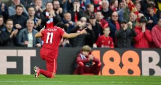في مباراة ليفربول ضد مانشستر سيتي ، بيانات صلاح المذهلة ... أفضل دفاع وهجوم