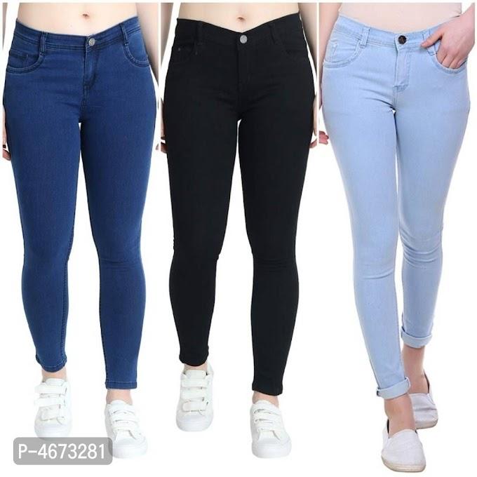 Womens Denim Jeans Combo of 3 Online Shopping   Denim Jeans For Women Online Shopping    Denim Jeans Online   Womens Jeans Online Shopping  