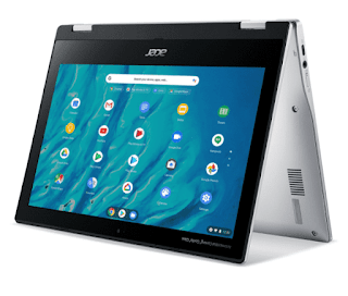 "$155, Acer Spin 311 Chromebook: 11.6"" IPS, 8-Core Processor, 4GB RAM, 32GB Storage"
