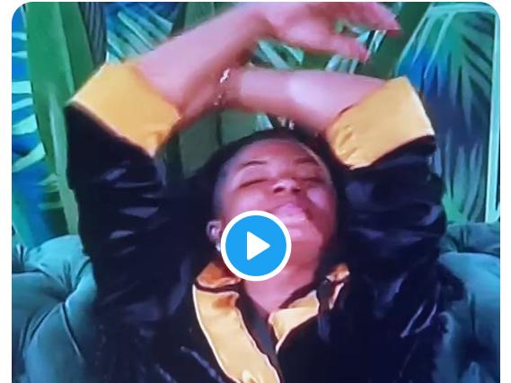 BBNaija: Watch Liquorose's reaction after she got a message from home (video)