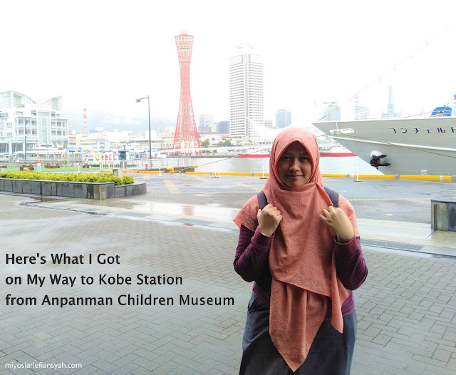 Here's What I Got on My Way to Kobe Station from Anpanman Children Museum