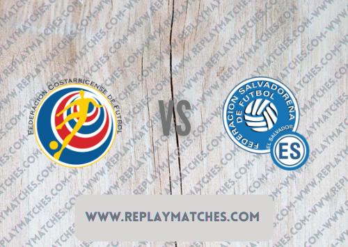 Costa Rica vs El Salvador Highlights 11 October 2021