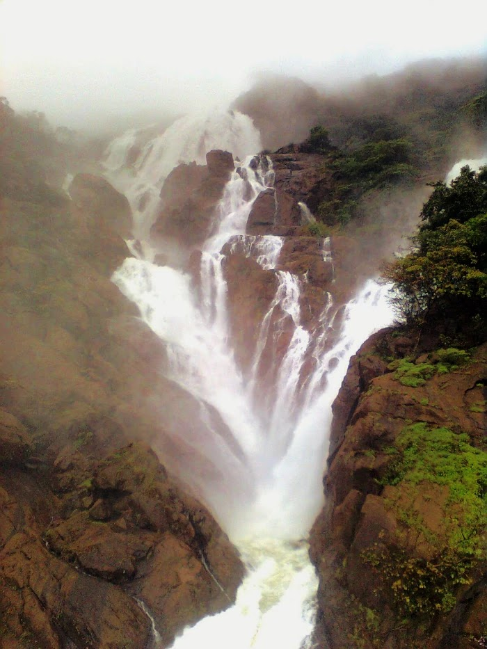 Dudhsagar Waterfall, Goa   Best Places to Visit in India