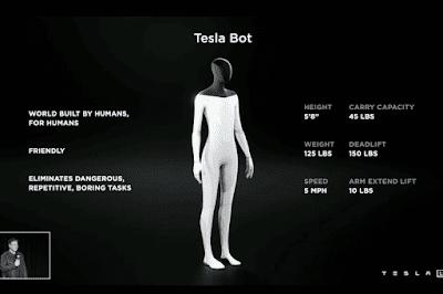 Alih-alih fokus pada pengembangan roket, Tesla juga tengah mengembangkan Robot Humanoid