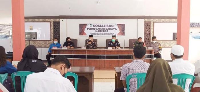 Pemdes Sidodadi Kecamatan Wongsorejo Banyuwangi, Gelar Sosialisasi dan Penyuluhan Bahaya  Narkoba