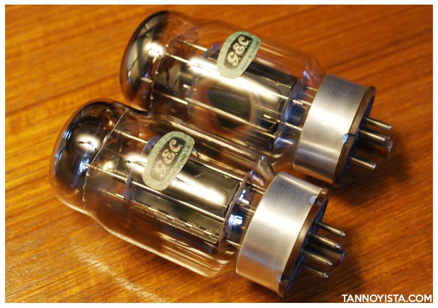 GEC KT88 valves for the Croft QUAD II Monoblock Amplifiers