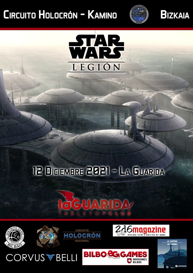 II Holocrón Kamino Bizkaia, un torneo de Star Wars Legión