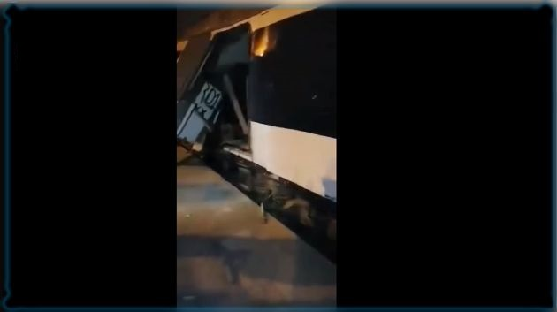 إصابة 33 شخصا في حادث اصطدام قطارين في مقرين الرياض