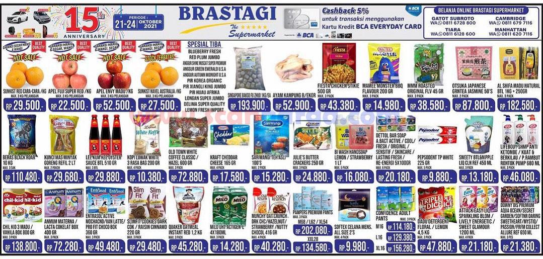 Katalog Promo JSM Brastagi Weekend 21 - 24 Oktober 2021