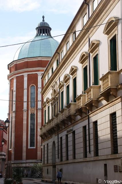 La Cupola della Cattedrale di Santa Maria Annunciata a Vicenza
