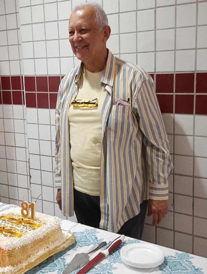 Dalmo Alves Pereira: Aniversariante do mês de Setembro de 2021,  Dalmo Alves Pereira, celebrou os 81 anos de vida.