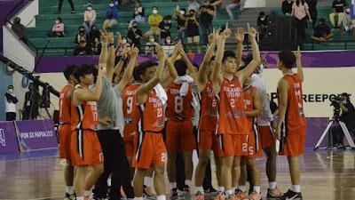 Meski Kalah Dari Papua, Tim Basket Sulut Tetap Melenggang Ke Babak Semifinal