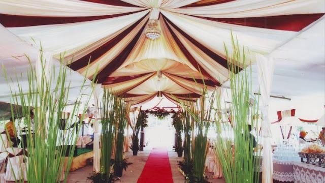 Tarif / Harga Sewa Rental Tenda Pernikahan Yogyakarta