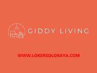 Loker Klaten PPIC, Furniture Design dan Purchasing di Giddy Living