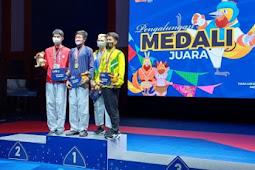 Tim Jawa Barat Dulang 3 Medali Emas Taekwondo Kyorugi PON XX