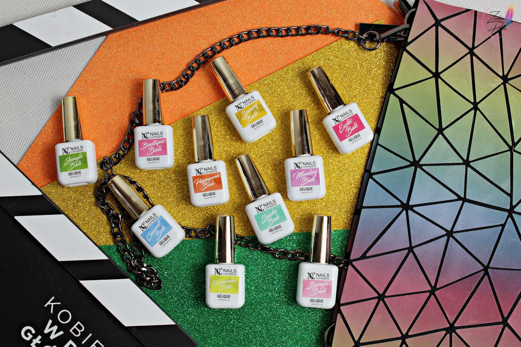 NC Nails Company Tropical Madness - cudowna kolekcja lakierów hybrydowych
