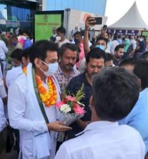 National secretary of congress devendra yadav reached Uttrakhand