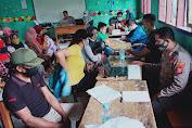 Polsek Cibeber Adakan Kembali Gebyar Vaksinasi di SMP N 6 Cibeber Desa Sukamulya