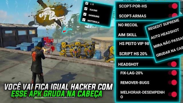 SAIU NOVO APK DE REGEDIT PRA VOCÊ FICA IGUAL HACKER COM HS NO PEITO VIP 98%