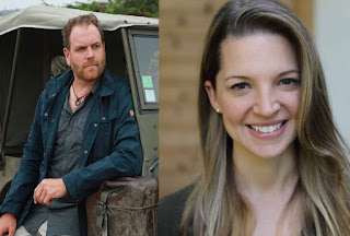 Picture of Josh Gates attached with his ex-wife Hallie Gnatovich