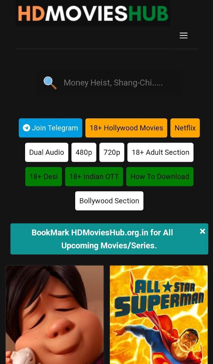 hdmovieshub | hdmovieshub Free Bollywood Hollywood movies downloader Website 2021