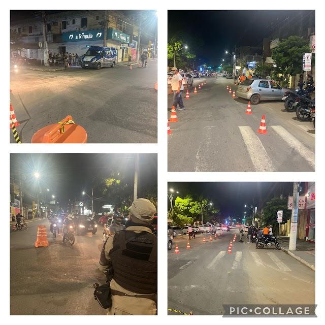 Policiais do Quarto Batalhão realizam ações durante o fim de semana em Itanagra e Alagoinhas