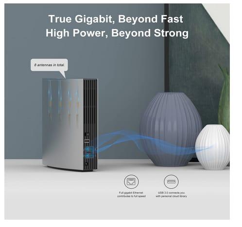 WAVLINK AC3200 Smart Dual Band Gigabit WiFi Router
